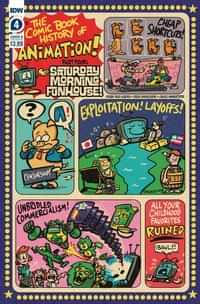 Comic Book History Of Animation #4 CVR B Dunlavey