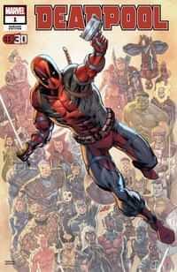 Deadpool Nerdy 30 #1 Variant Liefeld Deadpool 30th