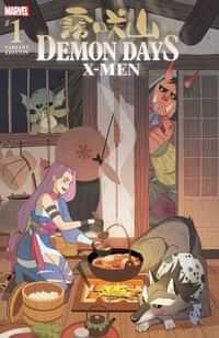 Demon Days X-men #1 Variant Gurihiru Var