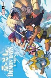 Demon Days X-men #1 Variant Yu Var