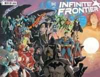 Infinite Frontier #0 CVR A Dan Jurgens and Mikel Janin Wraparound