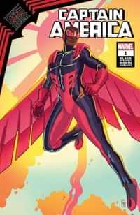 King In Black Captain America #1 Variant Black History Month