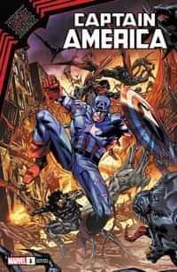 King In Black Captain America #1 Variant Guice