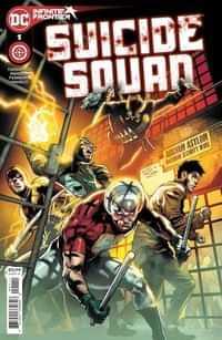 Suicide Squad #1 CVR A Eduardo Pansica