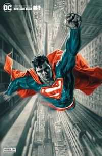 Superman Red and Blue #1 CVR B Lee Bermejo