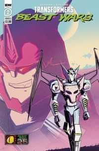Transformers Beast Wars #2 CVR A Josh Burcham