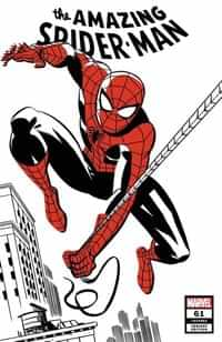 Amazing Spider-man #61 Variant Michael Cho Spider-man Two-tone