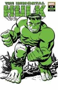 Immortal Hulk #44 Variant Michael Cho Hulk Two-tone