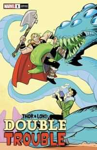 Thor And Loki Double Trouble #1 Variant 25 Copy Bustos