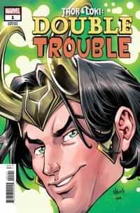 Thor And Loki Double Trouble #1 Variant Nauck Headshot