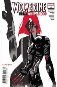 Wolverine Black White Blood #4