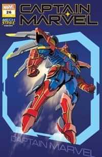 Captain Marvel #26 Variant Castellani Avengers Mech Strike