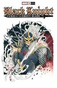 Black Knight Curse Ebony Blade #1 Variant Momoko