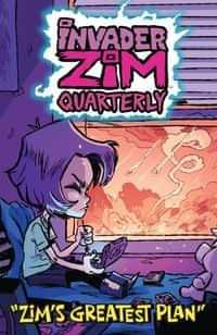 Invader Zim Quarterly Zims Greatest Plan #1 CVR B Cab