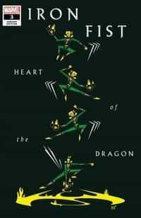 Iron Fist Heart Of Dragon #3 Variant Veregge