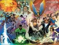 Justice League #59 CVR B David Marquez Wraparound