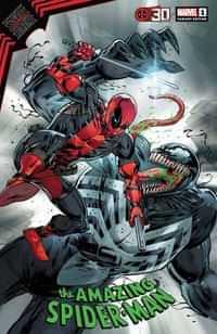 King In Black Spider-man #1 Variant Liefeld Deadpool 30th