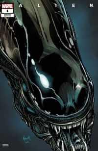 Alien #1 Variant Nauck Headshot