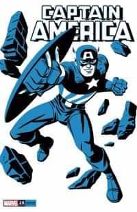 Captain America #28 Variant Michael Cho Captain America Two-tone