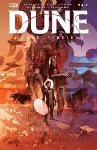 Dune House Atreides #5 CVR B Tocchini