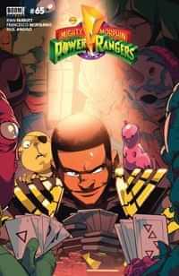 Power Rangers #5 CVR B Legacy Di Nicuolo