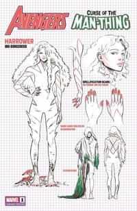 Avengers Curse Man-thing #1 Variant 10 Copy Carnero Design