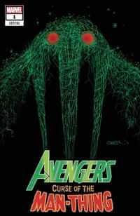 Avengers Curse Man-thing #1 Variant Gleason Webhead
