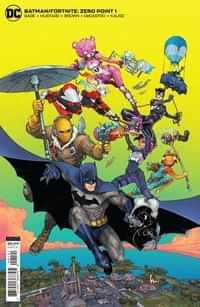 Batman Fortnite Zero Point #1 CVR B Cardstock Kenneth Rocafort