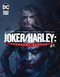 Joker Harley Criminal Sanity #8 CVR A Francesco Mattina
