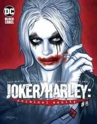 Joker Harley Criminal Sanity #8 CVR B Jason Badower