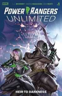 Power Rangers Unlimited Heir To Darkness #1 CVR B Connecting Yoon