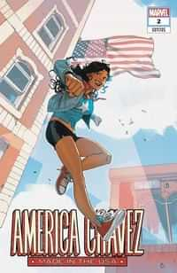 America Chavez Made In Usa #2 Variant Bengal