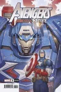 Avengers Mech Strike #3 Variant Nakayama
