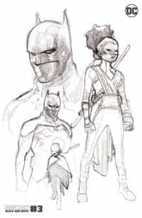 Batman Black And White #3 Second Printing