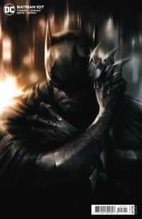 Batman #107 CVR B Cardstock Francesco Mattina