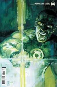 Green Lantern #1 Variant 25 Copy Cardstock Alex Maleev