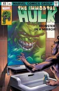 Immortal Hulk #45 Variant Bennett Homage