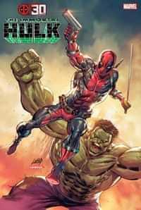 Immortal Hulk #45 Variant Liefeld Deadpool 30th