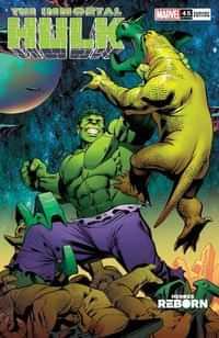 Immortal Hulk #45 Variant Pacheco Reborn