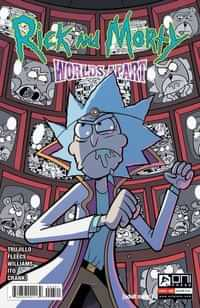 Rick And Morty Worlds Apart #3 CVR B Williams