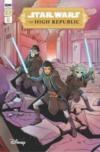 Star Wars High Republic Adventures #3 Variant 10 Copy Yael Nath