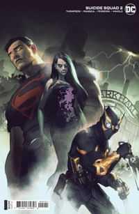 Suicide Squad #2 CVR B Cardstock Gerald Parel