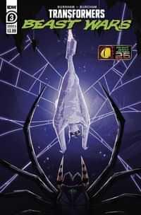 Transformers Beast Wars #3 CVR A Josh Burcham
