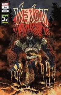 Venom #34 Variant Superlog Venom-thing