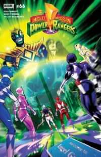 Mighty Morphin #6 CVR B Legacy Carlini