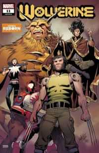 Wolverine #11 Variant Pacheco Reborn