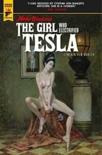 Minky Woodcock Girl Electrified Tesla #1 CVR A Mcginnis