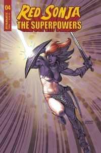 Red Sonja The Superpowers #4 CVR C Linsner