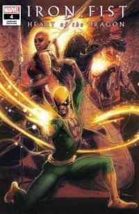 Iron Fist Heart Of Dragon #4 Variant Andrews
