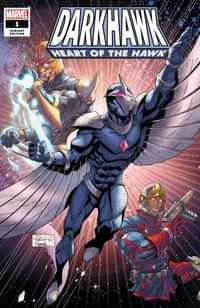 Darkhawk Heart Of Hawk #1 Variant Lubera
